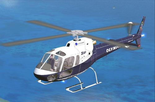 Aerospatiale AS350 Olympic FSX & P3D