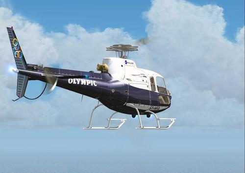 Aerospatiale AS350 Olympic FSX & P3D