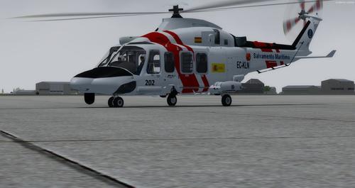 अगस्ता वेस्टलैंड AW139 FSX  &  P3D
