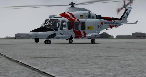 Ustગસ્ટા વેસ્ટલેન્ડ AW139 FSX  &  P3D