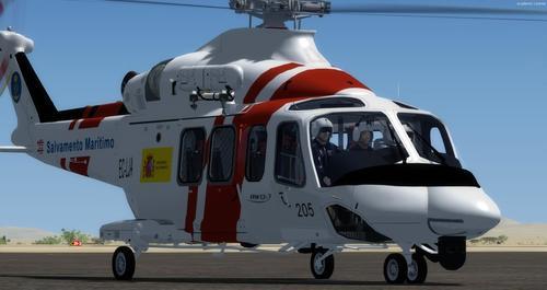 અગસ્તા વેસ્ટલેન્ડ AW139 SAR FSX  &  P3D
