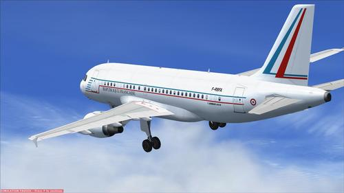 Airbus A319-100 French Republic FSX