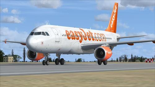 """""""Airbus A320-200 EasyJet"""" FSX  &  P3D"""
