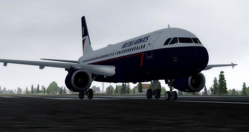 Airbus A320-232 em British Airways Landor FSX  &  P3D