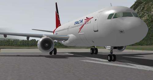 Airbus A320-233 v1.2 X-plane 9