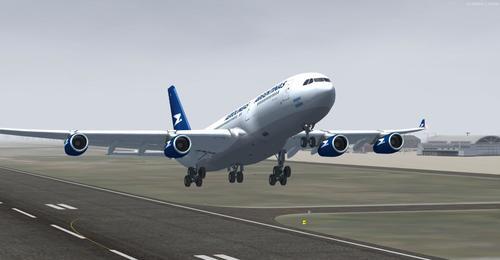 एयरबस एक्एक्सएनएमएमएक्स-एक्सएनएक्स एरोलिनास अर्जेन्टिनास FSX  &  P3D