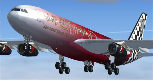 Package ea Airbus A340 Mega Package Vol 1 FSX  &  P3D