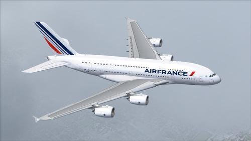 Airbus A380 Air France FS2004