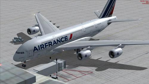 Airbus A380 Air France FSX