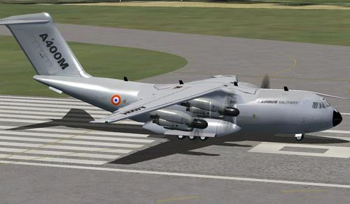 विमान सैन्य A400M v2.0 FSX आणि P3D