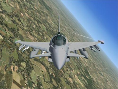 Eurofighter Typhoon AlphaSim FS2004