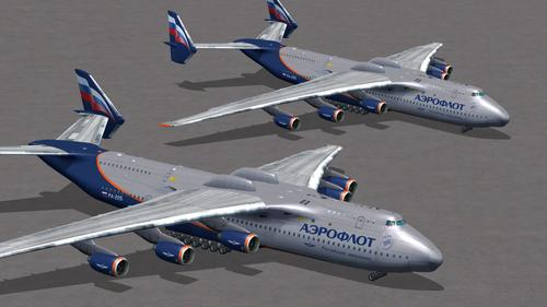 Antonov An-225 HD Livery Pack FSX  &