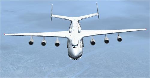 Антонов AN-225 PAX FSX  &  P3D