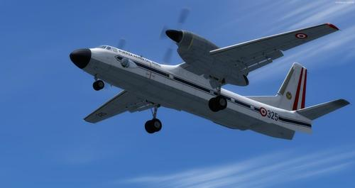 စနစ်သည် An-32 FSX  &  P3D