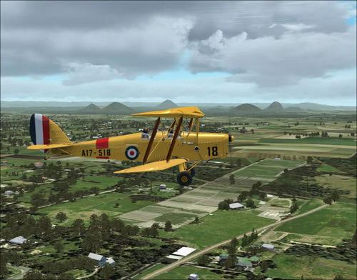 Ants De Havilland Tiger Moth DH-82A v1.1 FSX