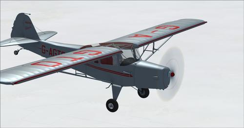 I-Auster J1 Autocrat FSX  &  P3D