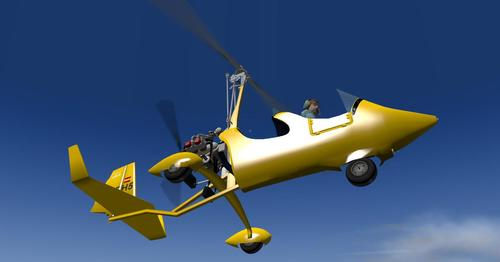 Autogyro ELA07-S က X-Plane  10