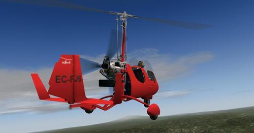 Autogyro ELA07-S X-Plane 10