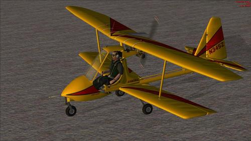 I-Aviatika MAI-890 Ultralight Biplane FSX-SP2-Ac
