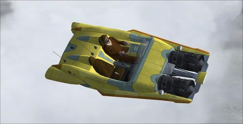 Movies Airplane & Flying Cars FS2004