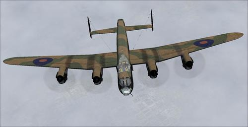 Avro ल्यानकास्टर TP464 DB AJJ v6 FSX र P3D