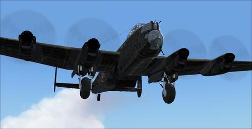 Avro Lancaster TP464 DB AJJ v6 FS2004