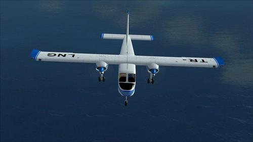 Britten-Norman BN-2 ကျွန်း - Transgabon FSX