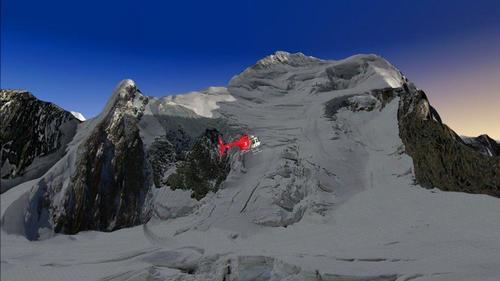 Barre des Ecrins - Photoreal plus mesh FSX & P3D