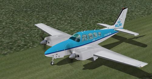 Beechcraft Baron 58 V2 X-Plane 10