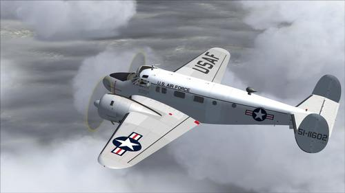 Beechcraft C-45G USAF FS2004