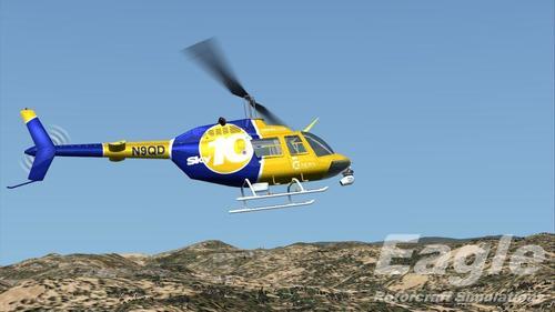 Bell 206B JetRanger III v1.1 FSX & P3D