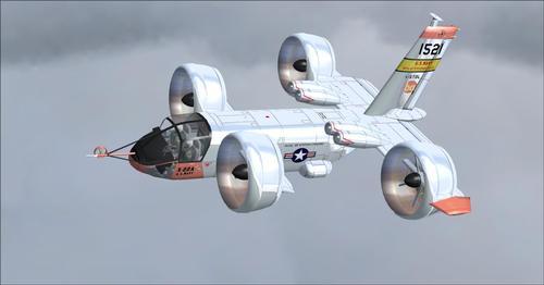 बेल X-22A FSX  &  P3D