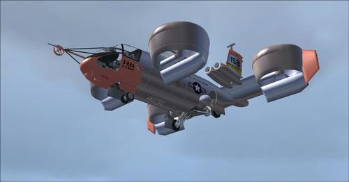 Bell X-22A FSX & P3D