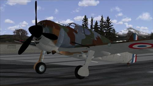 Bloch MB 152 Returnuravia FSX