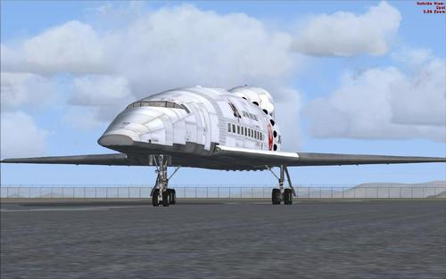 Boeing 7072 Orion Supersonic transport FSX