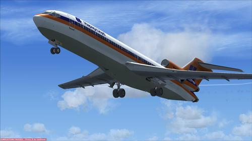 Boeing 727-200 Advanced FSX SP2
