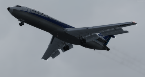 Boeing 727-200 with 154 Liveries FSX & P3D