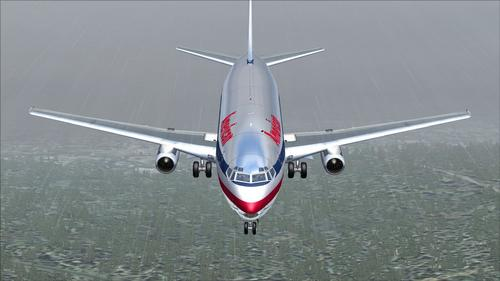 Boeing 737-200 American Airlines FS2004