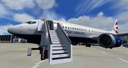 ബോയിംഗ് 737-MAX8 മൾട്ടി-ലിവറി FSX  &