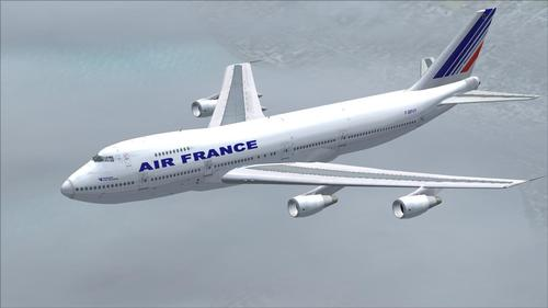 Boeing-747 200 Air France FS2004