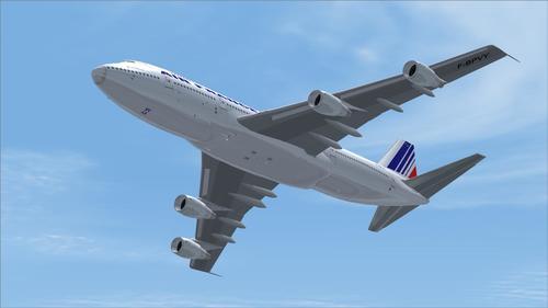 Boeing 747 200-Air France FS2004