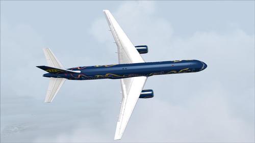 Boeing 757-200 ATA 25th Pen-blwydd FS2004