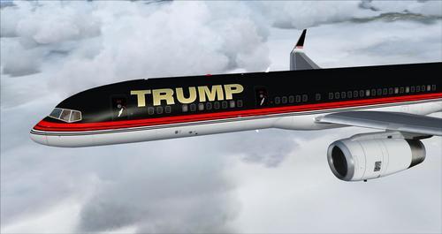 Boeing 757-200 Donald Trump (Trump