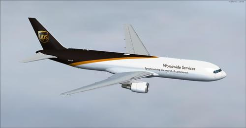 Boeing 767-300 mười hai tô màu lại FSX & P3D