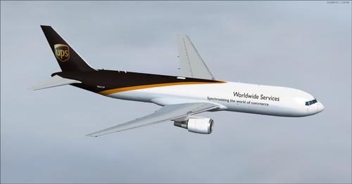बोईंग 767-300 बारा repaints FSX आणि P3D