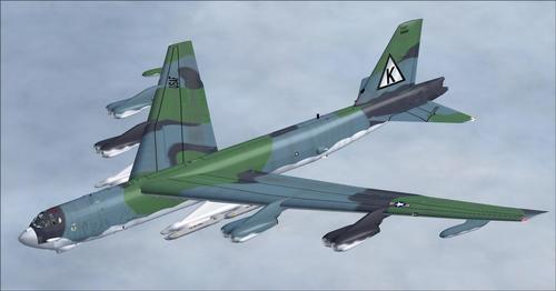 بوینګ B-52 Stratofortress Alphasim FSX SP2 & P3D