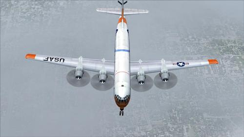 KC-97 Stratotanker USAF FS2004 Boeing