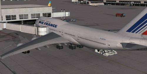 بوينج B747-443 Advanced VC FSX  &  P3D