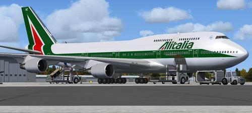 Boeing B747-443 Advanced VC FSX & P3D