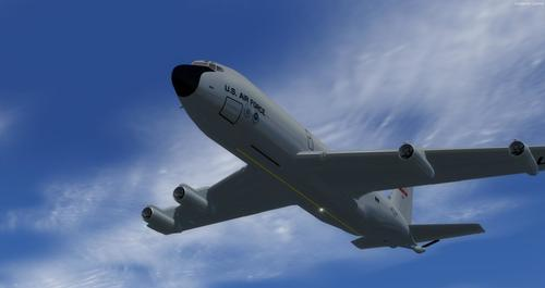 Boeing KC-135 Stratotanker-paketti FSX & P3D